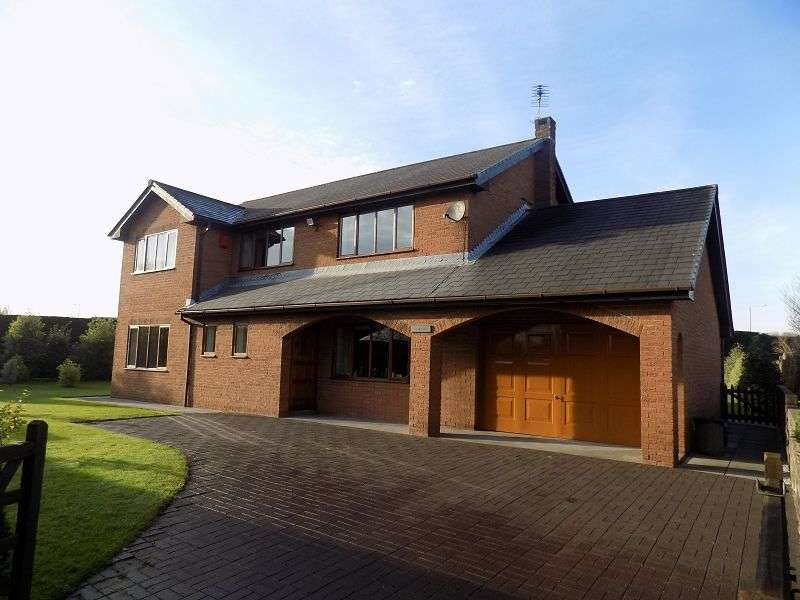 4 Bedrooms Detached House for sale in Tryweryn Waterton Road, Coychurch, Bridgend. CF35 5EN