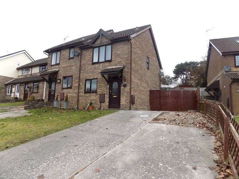 2 Bedrooms End Of Terrace House for sale in Rowans Lane, Bryncethin, Bridgend, CF32 9LZ