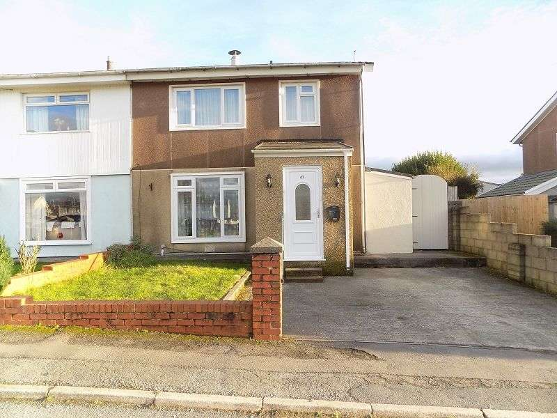 3 Bedrooms Semi Detached House for sale in St. Illtyds Road, Cefn Glas, Bridgend. CF31 4LB