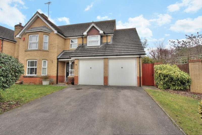 4 Bedrooms Detached House for sale in Acorn Grove, Knightwood Park, Chanders Ford