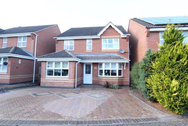 4 Bedrooms Detached House for sale in Anemone Close, Melton Mowbray, LE13