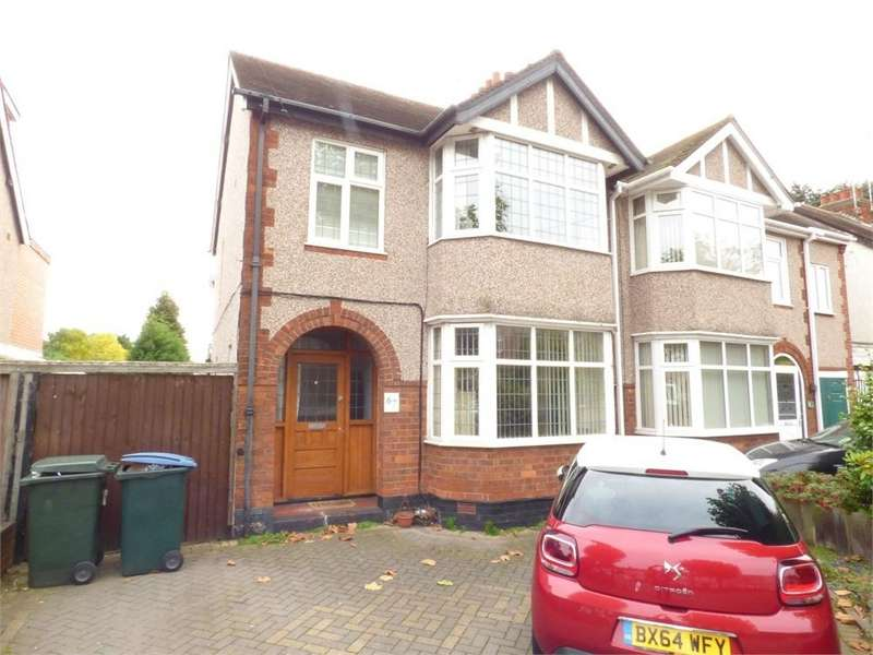 3 Bedrooms Semi Detached House for sale in Burns Road, Poets Corner, Coventry, West Midlands