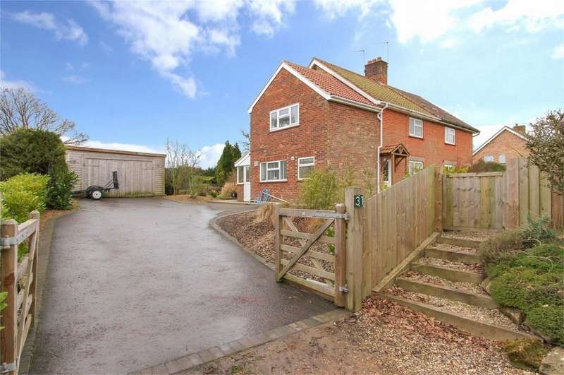 4 Bedrooms Semi Detached House for sale in Hale Road, Bradenham, Thetford, Norfolk