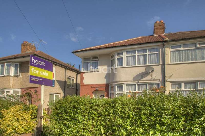 4 Bedrooms Semi Detached House for sale in Arundel Drive, HA2