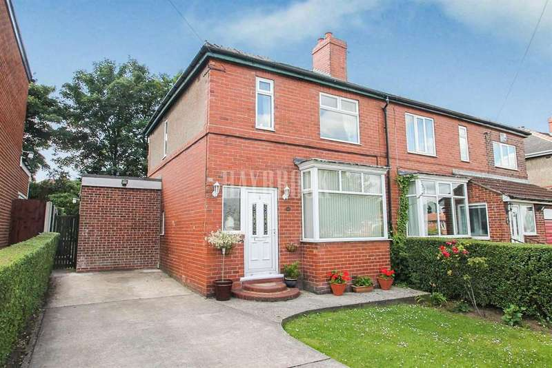 3 Bedrooms Semi Detached House for sale in Broom Avenue, Broom
