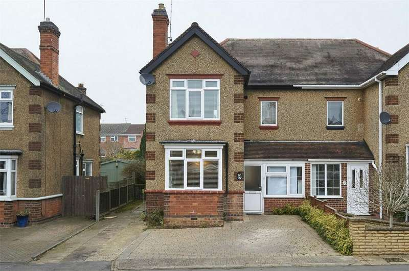 3 Bedrooms Semi Detached House for sale in The Headlands, Market Harborough, Leicestershire