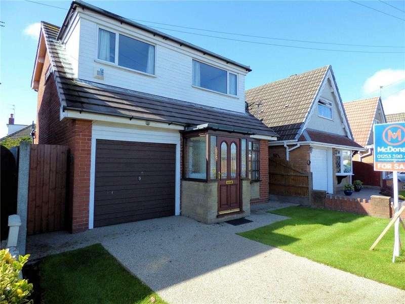 3 Bedrooms Detached House for sale in Halton Gardens, Blackpool, Lancashire