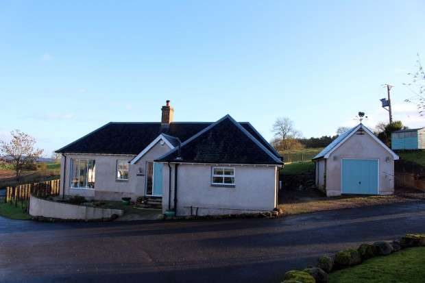 3 Bedrooms Detached House for sale in Ross Farm Cottage Madderty, Crieff, PH7