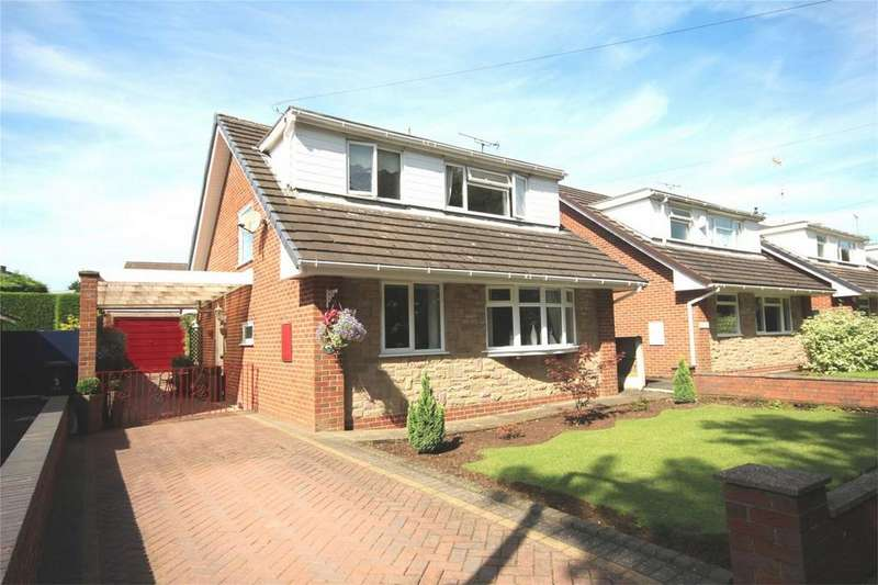 4 Bedrooms Detached House for sale in Tay Close, Cheadle, Staffordshire