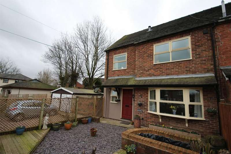 3 Bedrooms End Of Terrace House for sale in The Green, Kingsley, Staffordshire