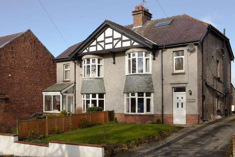 4 Bedrooms Semi Detached House for sale in Brackenber, Wordsworth Street, Penrith