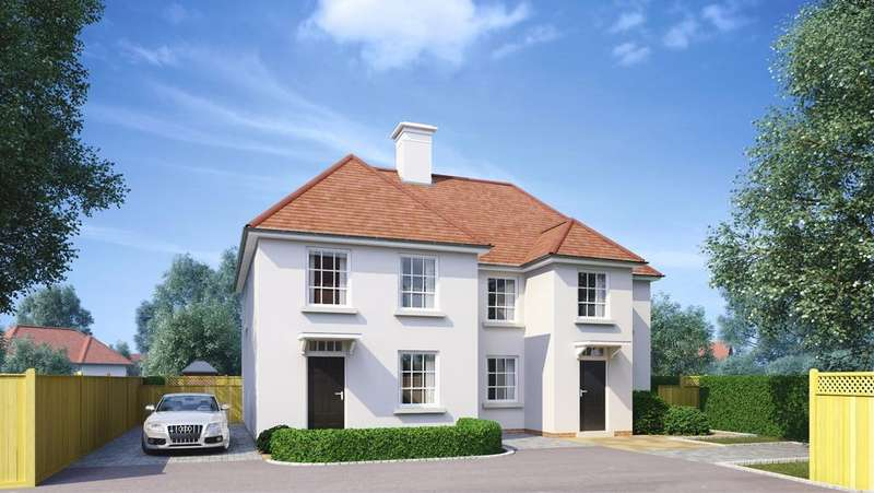 2 Bedrooms Semi Detached House for sale in Monks Brook, Twyford, Winchester