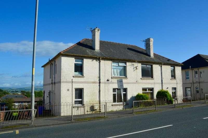 2 Bedrooms Ground Flat for sale in Cassillis Terrace, Maybole, Ayrshire, KA19 7HN
