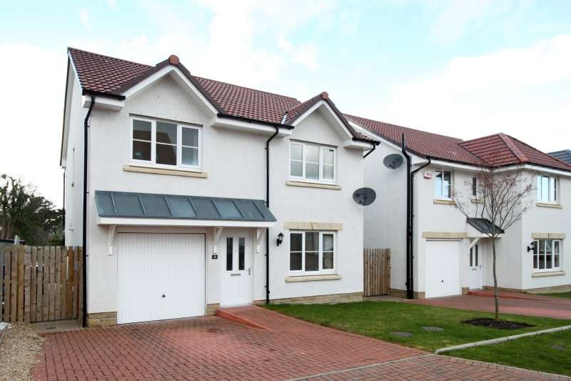 4 Bedrooms Detached House for sale in Whitehouse Avenue, Gorebridge, Midlothian, EH23 4FJ