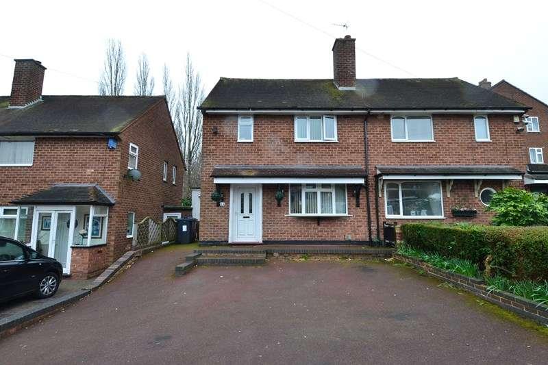 2 Bedrooms Semi Detached House for sale in Ormscliffe Road, Rednal, Birmingham