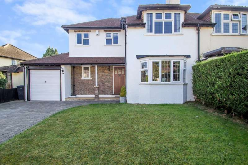 3 Bedrooms Semi Detached House for sale in Court Hill, Sanderstead, CR2 9ND