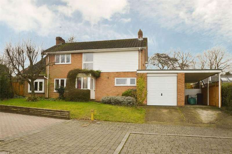 4 Bedrooms Detached House for sale in Teg Down Meads, WINCHESTER, Hampshire