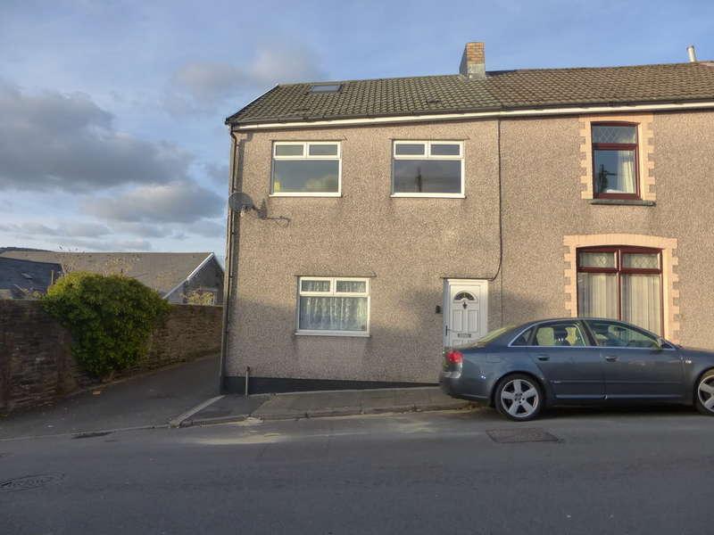 3 Bedrooms End Of Terrace House for sale in Jones Street, Cilfynydd, Pontypridd