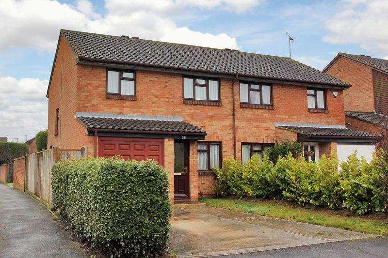 3 Bedrooms Semi Detached House for sale in Charrington Way, Broadbridge Heath