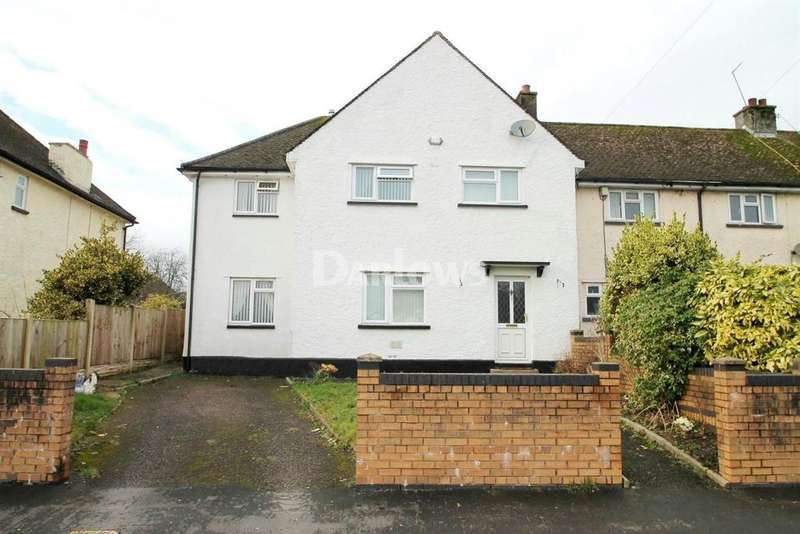 4 Bedrooms Semi Detached House for sale in Pentwyn Terrace, Marshfield, Cardiff