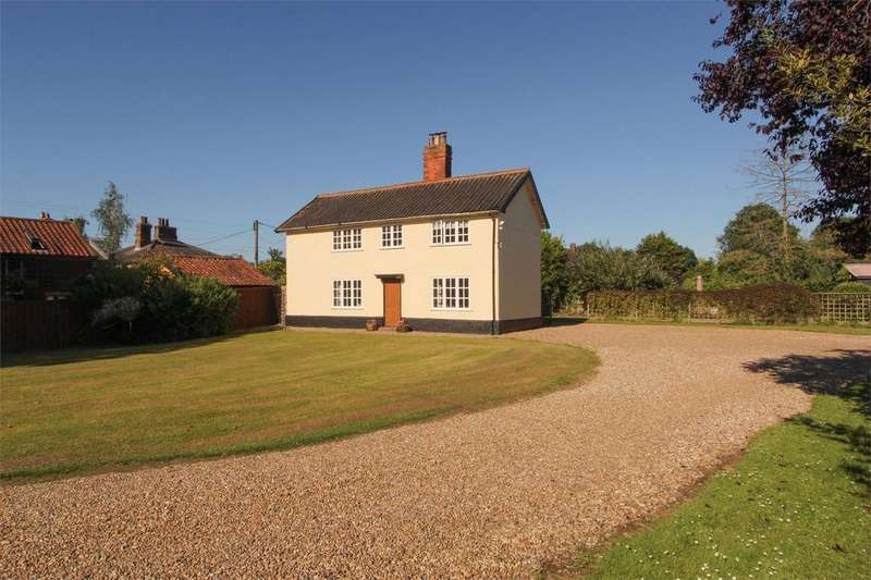 4 Bedrooms Detached House for sale in The Green, Old Buckenham, Norfolk