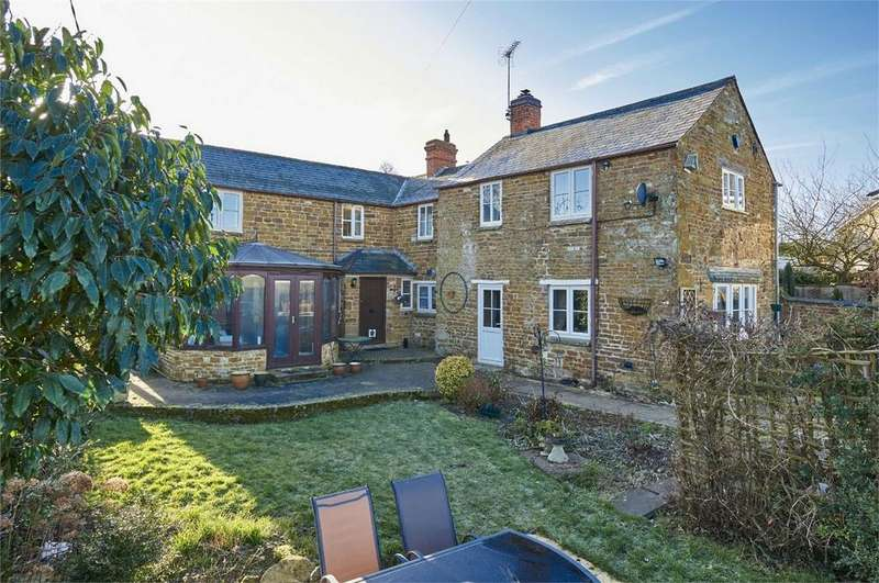 3 Bedrooms Detached House for sale in Barn Farm Cottage, Ashley Road, Weston By Welland, Market Harborough