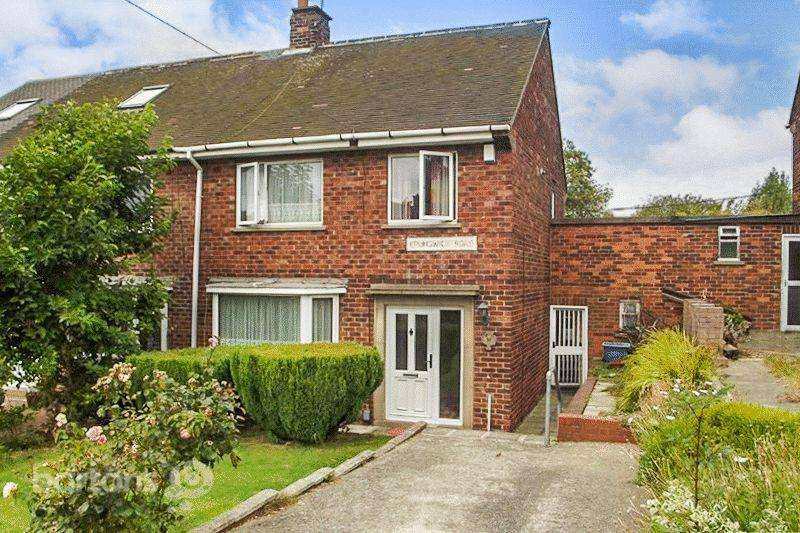 3 Bedrooms Semi Detached House for sale in Brunswick Road, Broom, ROTHERHAM
