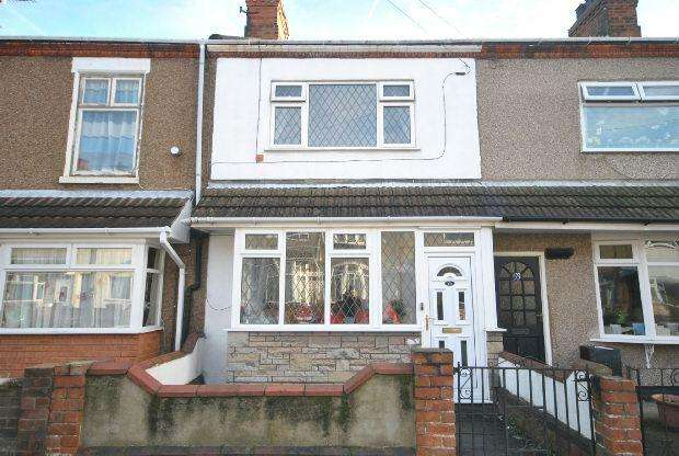 2 Bedrooms Terraced House for sale in Tiverton Street, CLEETHORPES