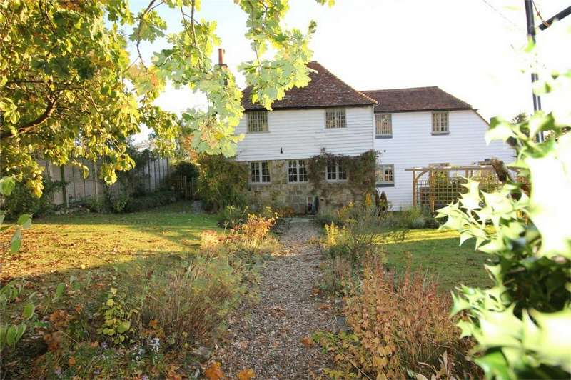 4 Bedrooms Detached House for sale in Old Stone Cottage, Church Lane, SALEHURST, East Sussex