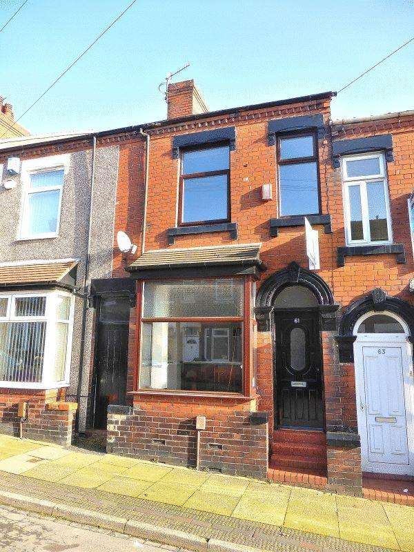 3 Bedrooms Terraced House for sale in Hammersley Street, Stoke-on-Trent ST1 6LP
