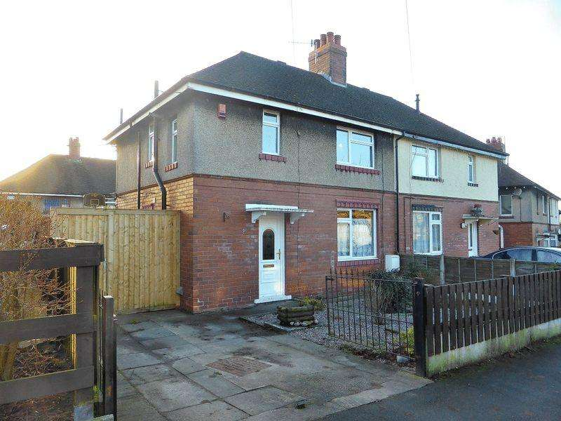 3 Bedrooms Semi Detached House for sale in Argles Road, Leek