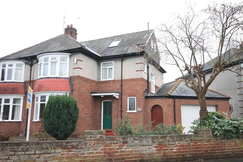4 Bedrooms Semi Detached House for sale in Neville Road, Darlington