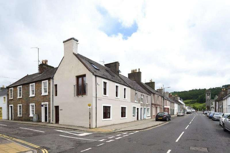 4 Bedrooms End Of Terrace House for sale in Dhun Eideann, Digby Street, Gatehouse Of Fleet, Castle Douglas, DG7