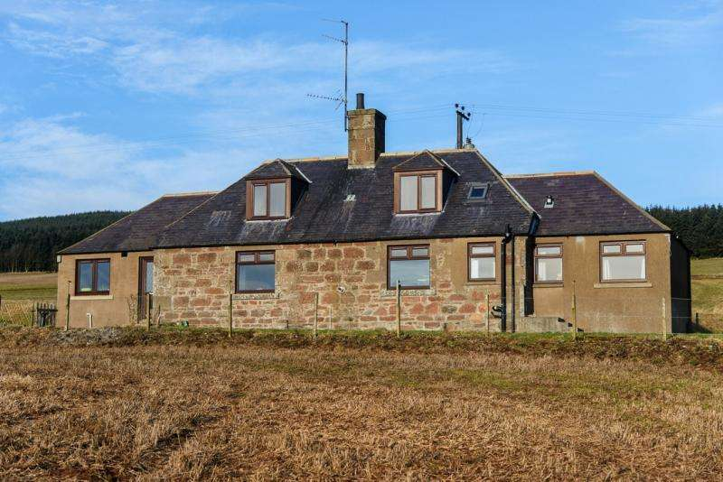 4 Bedrooms Detached House for sale in Upper Coullie Cottage, Fordoun, Laurencekirk, Aberdeenshire, AB30