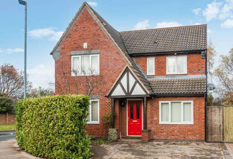 4 Bedrooms Detached House for sale in Grantham Close, Belmont, Hereford