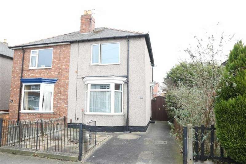 2 Bedrooms Semi Detached House for sale in Bensham Road, Darlington