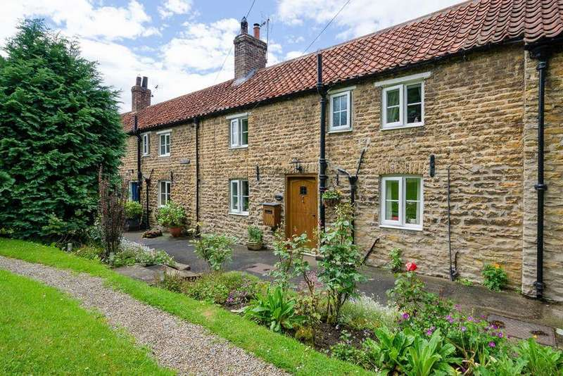 2 Bedrooms Terraced House for sale in Dale Cottages, Brandsby