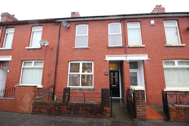 2 Bedrooms Terraced House for sale in Bartlett Street, Caerphilly
