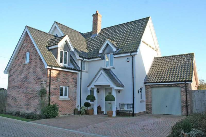 4 Bedrooms Detached House for sale in Fressingfield, Suffolk