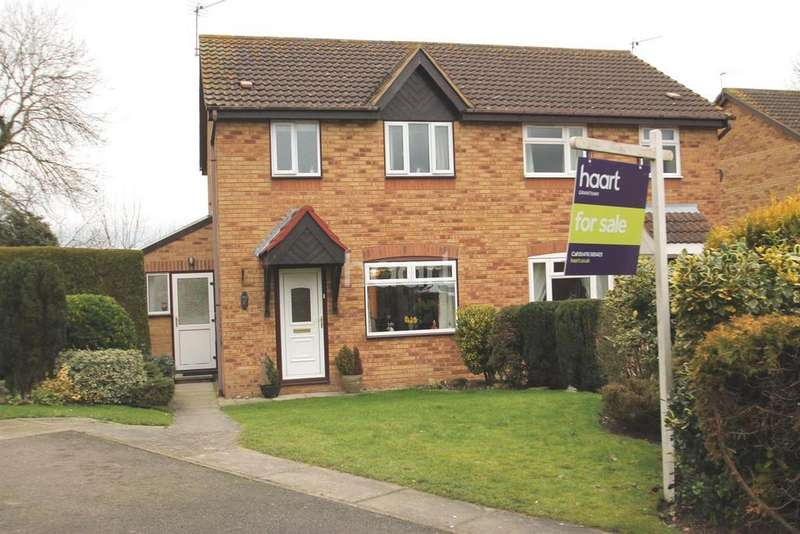 3 Bedrooms Semi Detached House for sale in The Chase, Ropsley, NG33 4AN