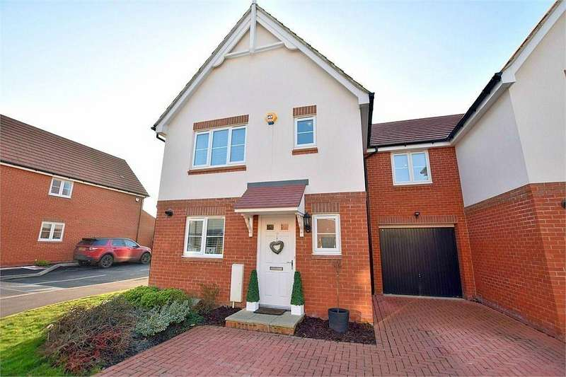 4 Bedrooms Link Detached House for sale in Burbridge Road, Leavesden, Watford, Hertfordshire