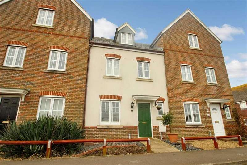 4 Bedrooms Terraced House for sale in Foxwood Avenue, Angmering, West Sussex