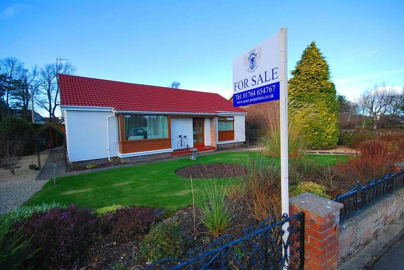 3 Bedrooms Detached Bungalow for sale in St Margrets Crescent, Auchterarder ph3
