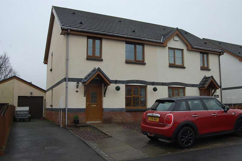 3 Bedrooms Semi Detached House for sale in Glyncoed, Tycroes, Ammanford