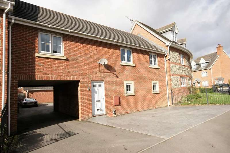 2 Bedrooms Maisonette Flat for sale in Goldcrest Way, FOUR MARKS, Hampshire