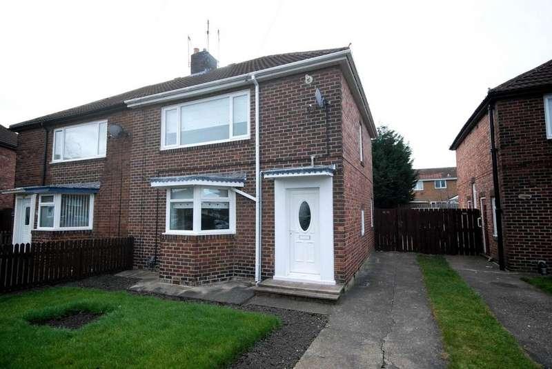 3 Bedrooms Semi Detached House for sale in Barnard Crescent, Hebburn