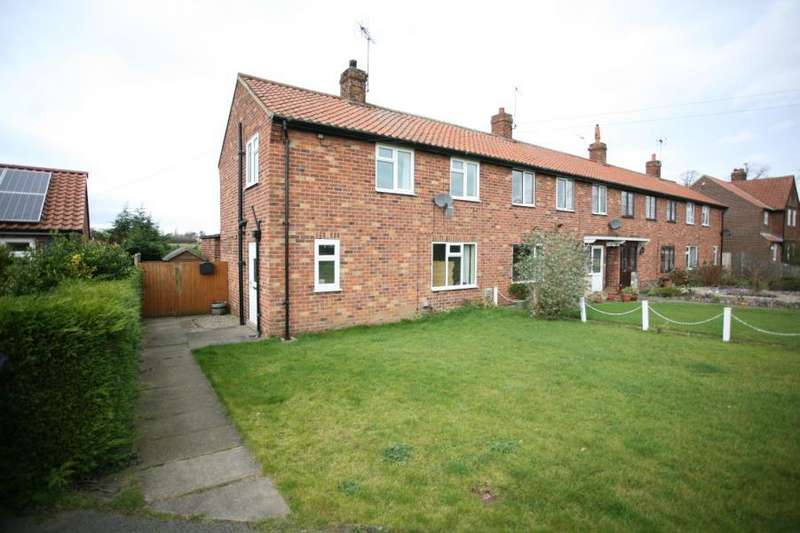 3 Bedrooms Semi Detached House for sale in BRANTON LANE, GREAT OUSEBURN, YORK, YO26 9RP