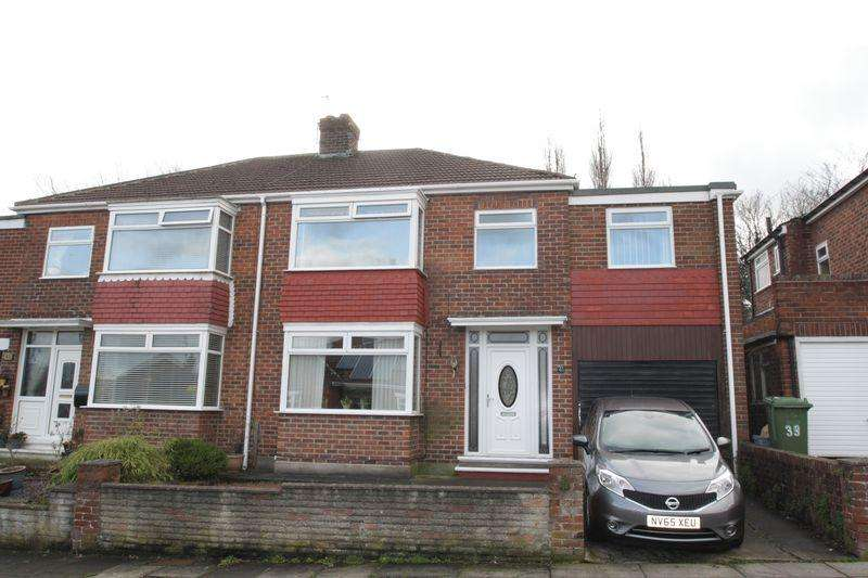 4 Bedrooms Semi Detached House for sale in Bromley Road, Hartburn TS18 4HD