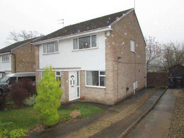 2 Bedrooms Semi Detached House for sale in ROCHESTER CLOSE, BISHOP AUCKLAND, BISHOP AUCKLAND
