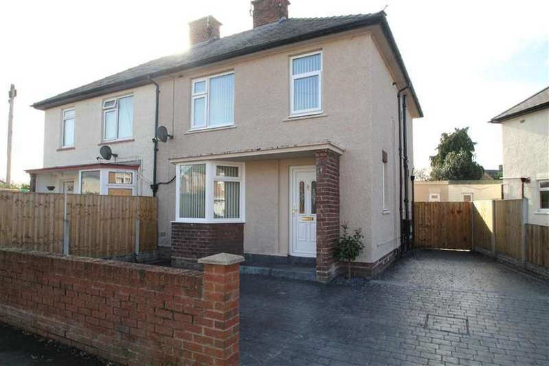 3 Bedrooms Semi Detached House for sale in Beechwood Road, Saltney